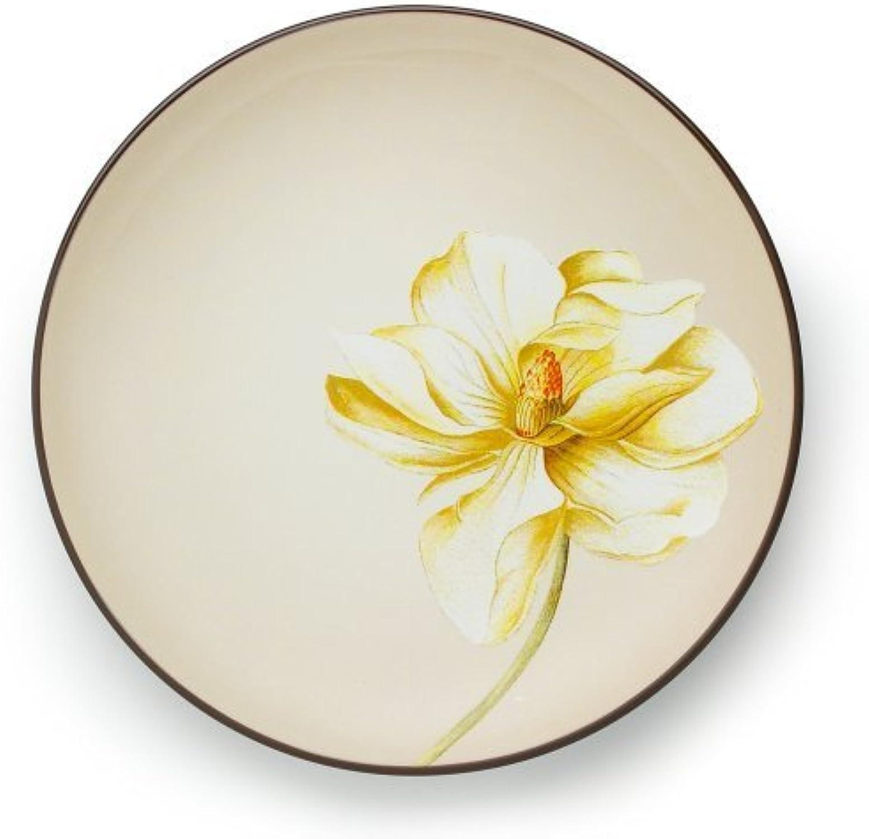 Porcelaine Noritake CouleurWave Chocolat Accent Plate, 22,9cm en Porcelaine Noritake