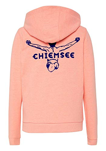 Chiemsee Jungen Sweatjacke Sweatshirts, Neon Orange, 158/164