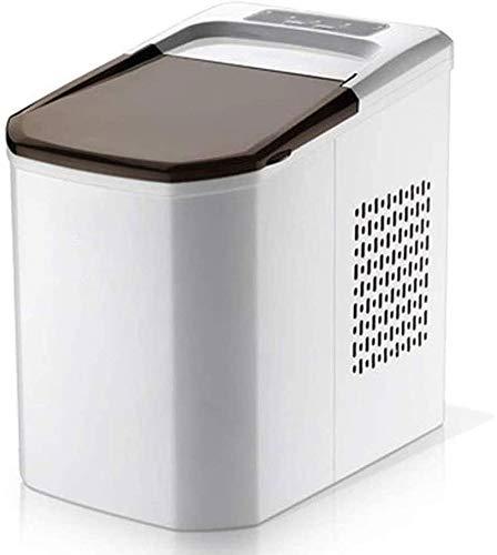 QIYUE EIS-Hersteller-Maschine Compact Top Eismaschine - Zähler einfaches Modell, 15kg Eisleistung In 24 Stunden, ideal for Küchen, Tailgating, Bars, Partys