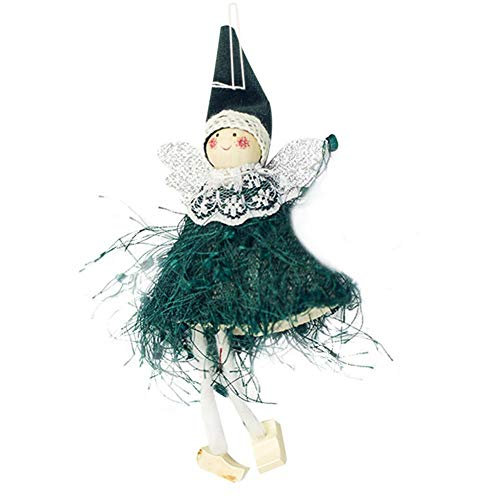Ahomi engel pluche pop-kerstboom-hanger versiering thuis party-decoratie cadeau cadeau voor kinderen