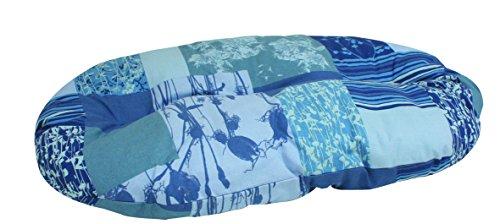 Croci Nuvola Coussin pour Chien Bleu 69 x 45 cm