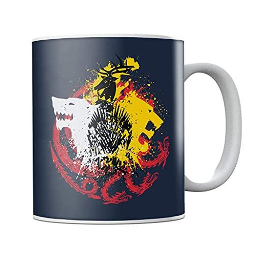 Juego de Tronos Juego de Colores Taza de café de cerámica, taza de té, regalo de cumpleaños