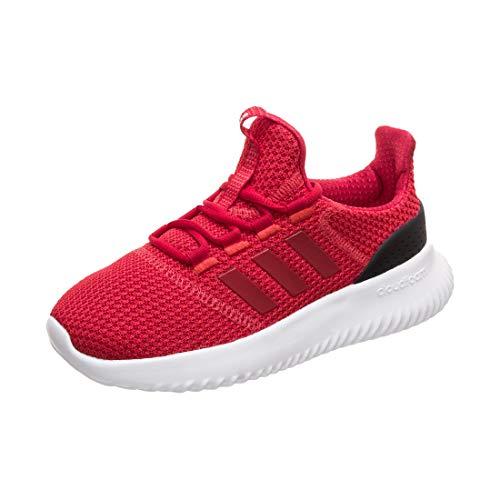adidas Unisex Adults' Cloudfoam Ultimate Fitness Shoes, Red (Roalre/Escarl/Negbás 000), 5.5 UK