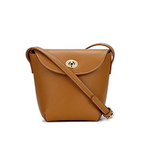 Bolso de hombro bolso de mensajero de las mujeres de todo partido verano cubo de las mujeres, color Marrón, talla Talla única