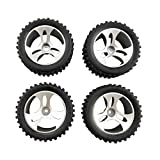 sea jump 4PCS tire for Wltoys A959 RC Off-Road Vehicle Remote SUV Parts Four-Wheel Drive Spare Parts A959-01