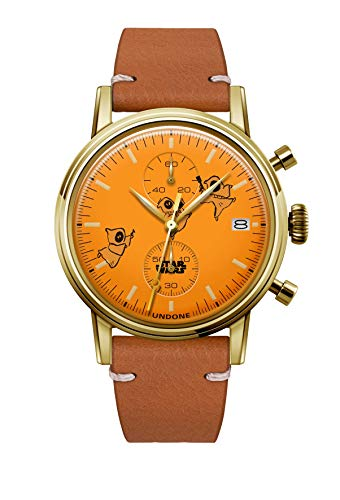 [アンダーン] 腕時計 スター・ウォーズ ジャワ 特別カスタム SW-T1006 ブラウン