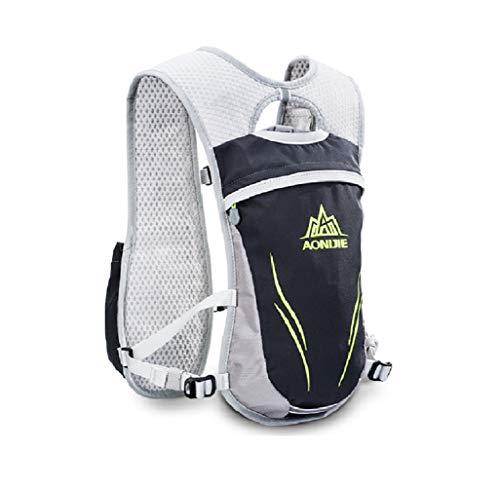 Mochila de hidratación de 5,5 l, chaleco de equitación para maratón, correr, ciclismo al aire libre, carga de escalada, cartera móvil