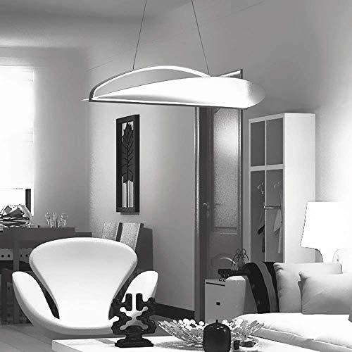 QCSMegy Después De La Lámpara De Acrílico Del Arte Moderno Restaurante Minimalista Lámpara LED Nórdica Dormitorio De La Lámpara Sala Cálida Iluminación Blanca Araña De La Personalidad Creativa De Barr