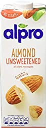Alpro Almond Unsweetened Drink 1L