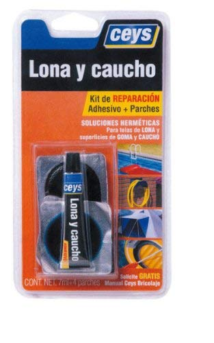 ceys CE505017 Adhesivo reparador lona-caucho, Azul, 0