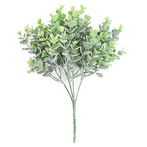 Profusion Cicle 1 Pc Artificial Plant Tree Leaf Faux Greenery Eucalyptus Leaves Indoor Room Party Home Office Wedding Decoration