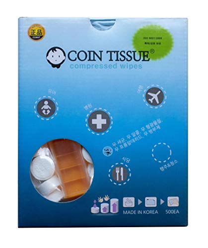 Coin Tissues | Compressed Towels | Camping Wipes
