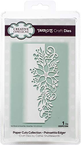 Paper Cuts Collection - Poinsettia Edger - Craft Die