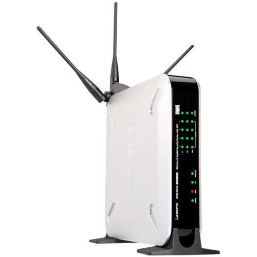 WRVS4400N draadloze N Gigabit Security Router (UK) (UK)