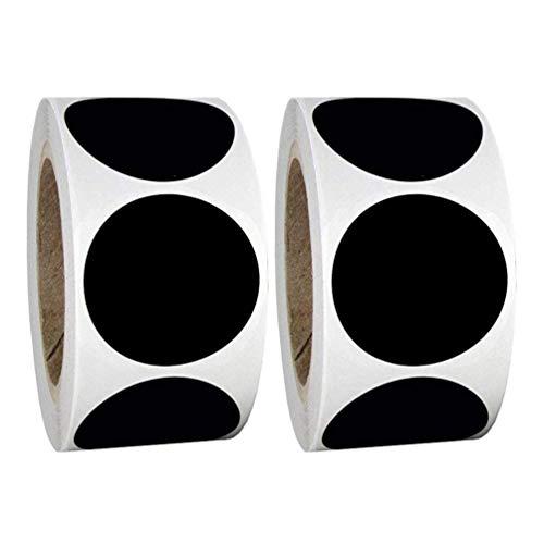 BESPORTBLE 240 Pcs Tableau Autocollant Étiquettes Adhésif Mason Pot Étiquettes Tableau Noir Étiquette Autocollant Pour Épices Verre Tasses Conteneurs