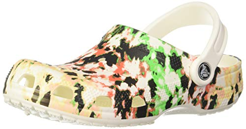 Crocs Baby Kid's Classic Tie Dye Mania Clog|Water Shoe for Toddlers, Boys, and...