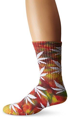 HUF Herren Socken Tie Dye Plantlife Socks