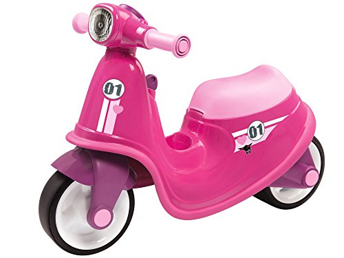 BIG 800056376 - Classic-Scooter Girlie Kinderfahrzeug, rosa