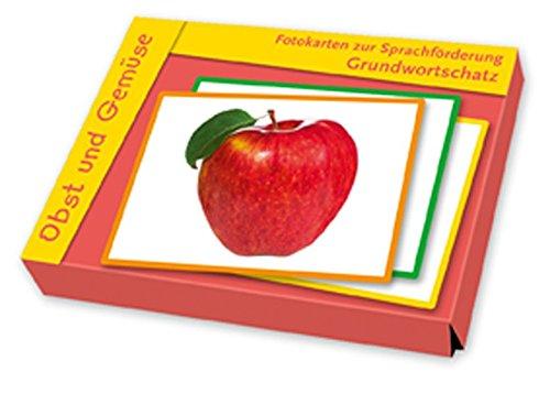 Fotokarten zur Sprachförderung Grundwortschatz: Obst und Gemüse