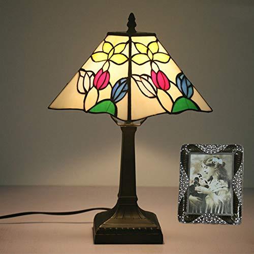 GXCX Lámpara de Mesa Estilo Tiffany 8 Pulgadas lámpara de Mesa de...