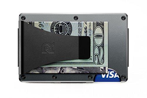 [ザ リッジ] スマートフォンよりも薄い財布 アルミニウム マネークリップ