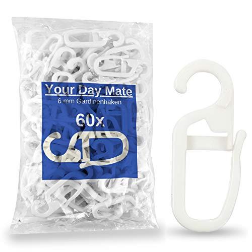 Guangde Rubber & Plastic Materials Co., Ltd. -  60 x Gardinenhaken,