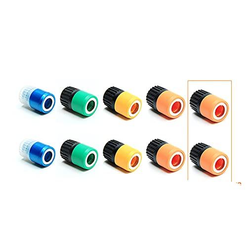 Brocas de destornillador de taladro magnético multicolores de 65 mm Brocas de taladro anticorrosión Imán Anillo completo Anillo magnético universal Paquete de metal H