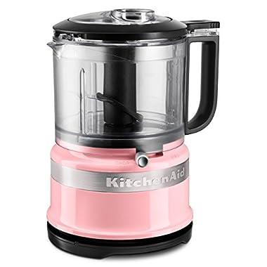 KitchenAid KFC3516GU 3.5-Cup Mini Food Processor, Guava Glaze