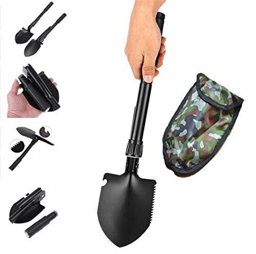 TQ Militär Tragbare Klapp Überlebensschaufel Notfall Garten Camping Outdoor Mini Überlebens Tasche Werkzeuge Edelstahl Griff