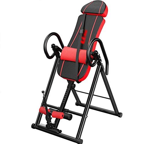 LQQ Gravity Heavy Duty Inversion Bench Table Adjustable Inversion Equipment Multifunctional Back Stretcher Machine for Back Pain Inversion Chair