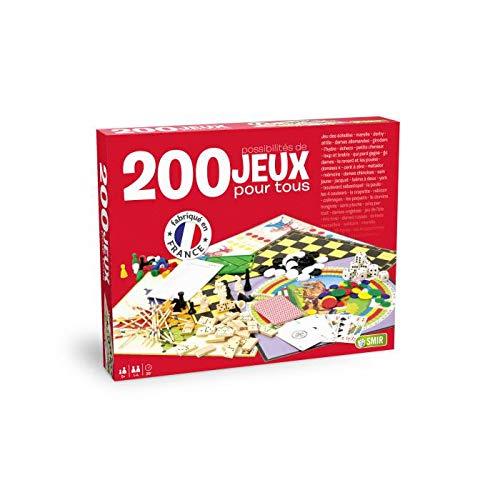 Smir - Coffret 200 jeux pour tous - Jeu de Société