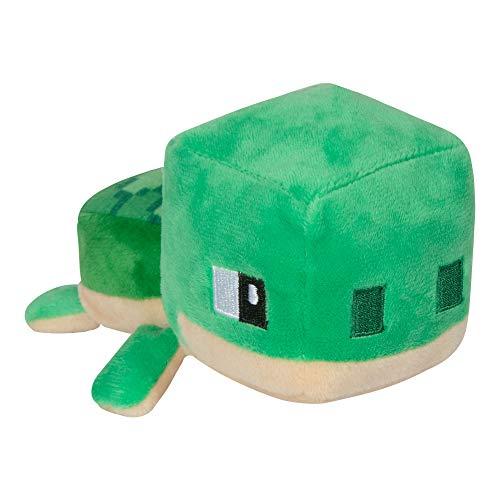 JINX 9581 Minecraft Mini Crafter Sea Turtle / Schildkröte, 14 cm Plüsch