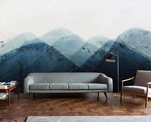 Mural Wallpaper Photo Poster Wall DecorationInk Landscape sceneryBackground Wall Background Painting Panorama 3D Wall Mural Decor 300 * 450cm
