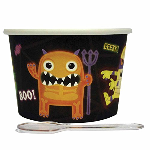 Amscan International 996671 Boo Crew Desert pot en lepel