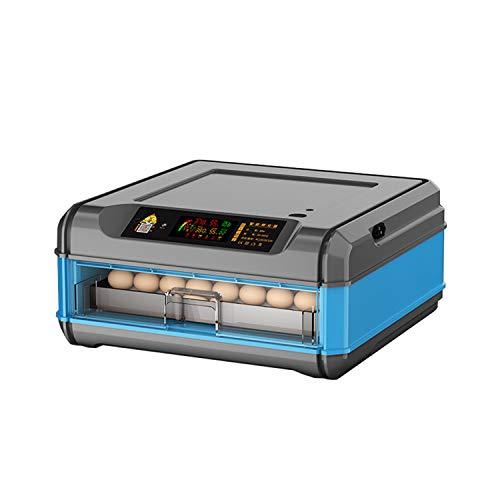 JHKGY Incubadora Automática De Huevos,Nacedora Digital Completamente Automática,con Control Automático De Temperatura,para Huevos Huevo De Pato, Huevo De Pavo Huevos De Ave,56 Egg