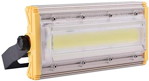Focos LED Ensamblados 50W, Focos Industriales, Focos PIR, Focos para Exterior e Interior, Apliques para Telas de Taller de Jardín, Impermeable IP65