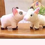MKmd-s Soft Mini Pig Plush Toy, Stuffed Pig Plush Soft Toys, para Cama de niños Toy 2pcs 18 cm