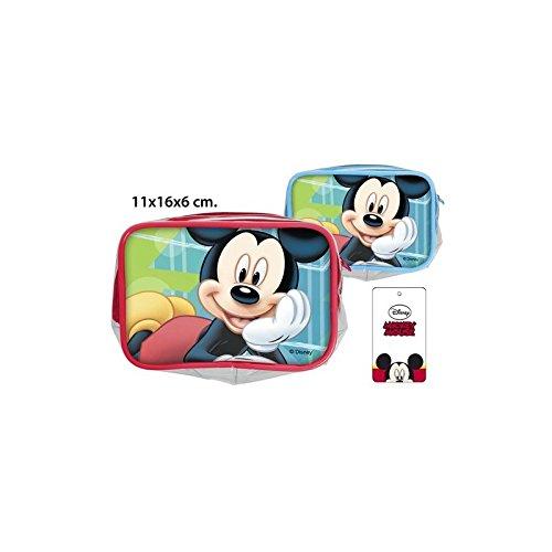 Disney–Handtasche Kosmetiktasche PVC Mickey sortierte Modelle, 11x 16x 6cm.
