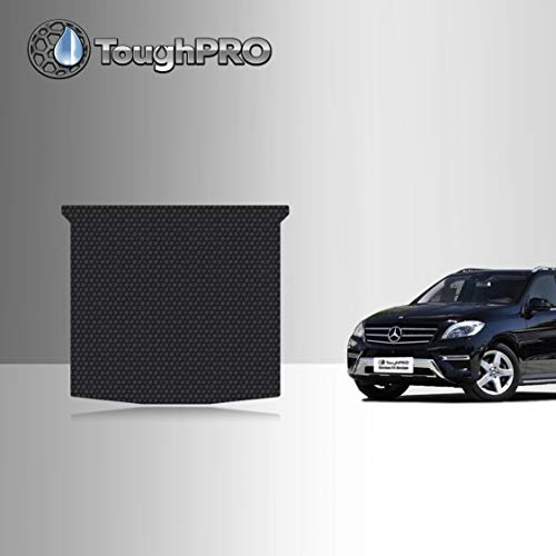 TOUGHPRO Cargo/Trunk Mat Accessories Compatible with Mercedes-Benz ML350 - All Weather - Heavy Duty - (Made in USA) - Black Rubber - 2012, 2013, 2014, 2015
