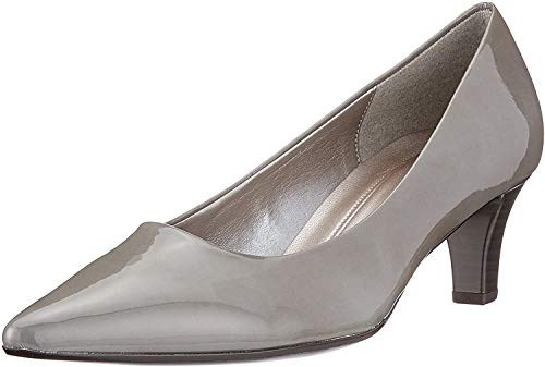 Gabor Shoes Damen Fashion Pumps, Grau (Stone), 42 EU