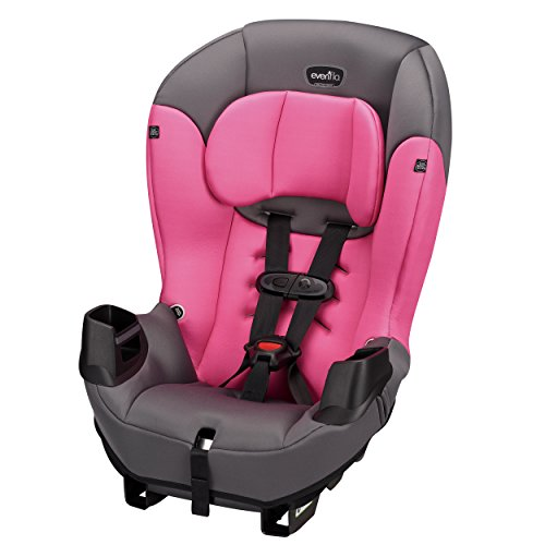 Check Out This Evenflo Sonus Convertible Car Seat, Strawberry Pink