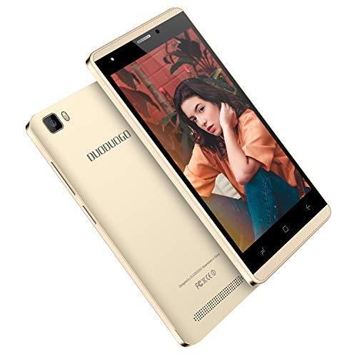Moviles Libres Baratos 4G, J3(2019) 16GB ROM, 5.0 Pulgada Telefono Móvil, Android 7.0 Batería 2800mAh, Dual SIM Dual Cámara 5MP, WIFI Bluetooth GPS Móviles y Smartphones libres (Oro)