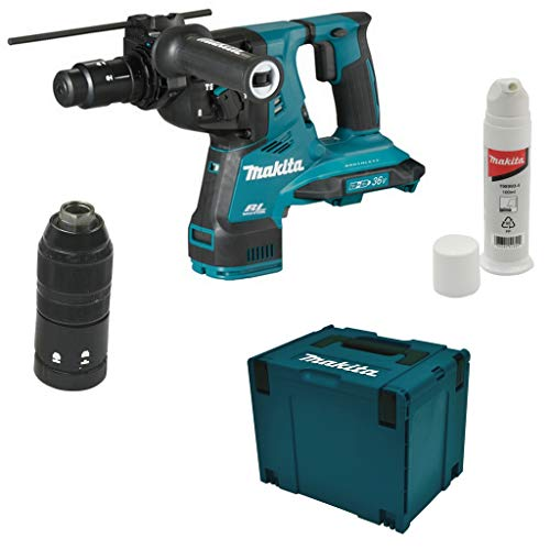 Makita DHR281ZJ 36V Brushless SDS + Rotary Hammer Drill Body with Quick Change Chuck in Case