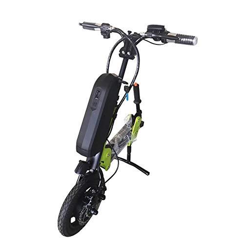 Compacte rolstoelbestuurder met elektromagnetische rem nachtlampje LCD-instrument opvouwbaar in hoogte verstelbaar lichte rolstoelversterker