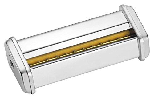 """Accesorio para máquina de pasta Laica PM2000 que permite hacer las tiras de pasta """"Reginette"""" en metal plateado LAICA APM005"""