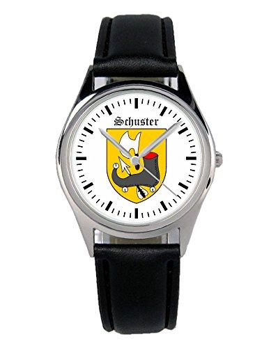 Geschenk für Schuster Schuhmacher Zunftzeichen Uhr B-1803