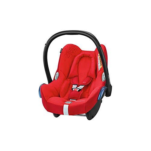 Bébé Confort Cabriofix Seggiolino Auto 0 - 13 kg, Ovetto Gruppo 0 +, 0 - 12 Mesi, Vivid Red