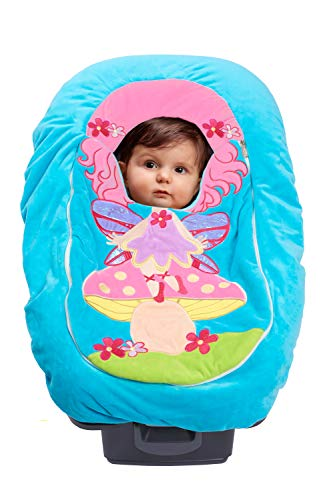 Car Seat Cuties | Baby/Infant Car Seat Cover | Universal fit for Infant Car Seat (0-12m) Baby/Infant Blanket Style Car Seat Cover Costumes (Fairy)