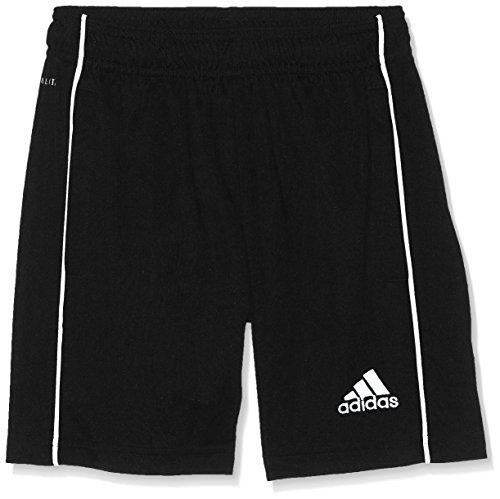 adidas Kinder CORE18 TR Y Shorts CORE18 TR Y CE9030, Schwarz (Black/White), 128 (Herstellergröße: 128)