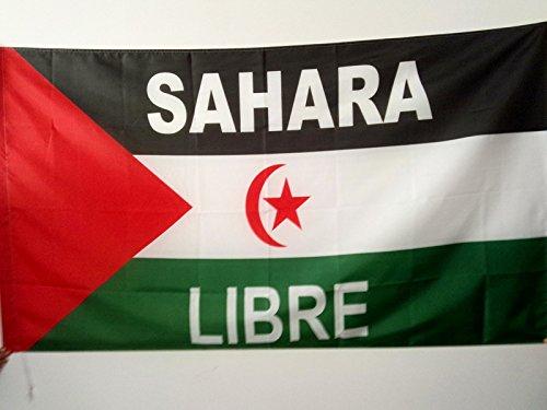 AZ FLAG Bandera del Frente POLISARIO Sahara Occidental 90x60cm para Palo - Bandera SAHARAUI 60 x 90 cm